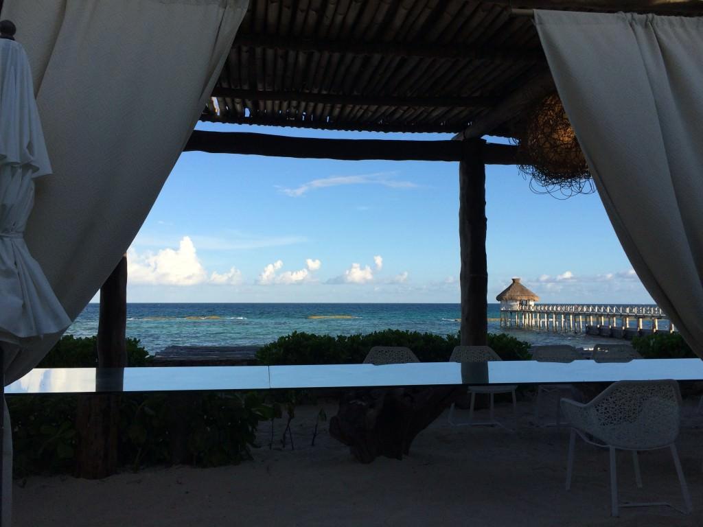 Havana Moon 座席からの景色