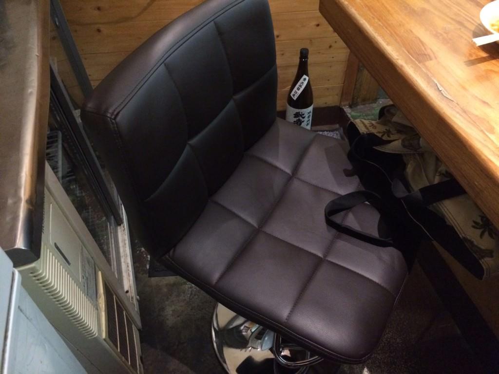 座り心地のいい椅子