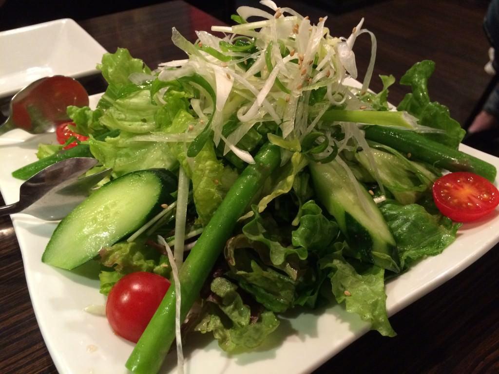 俺のグリーンサラダ 780円