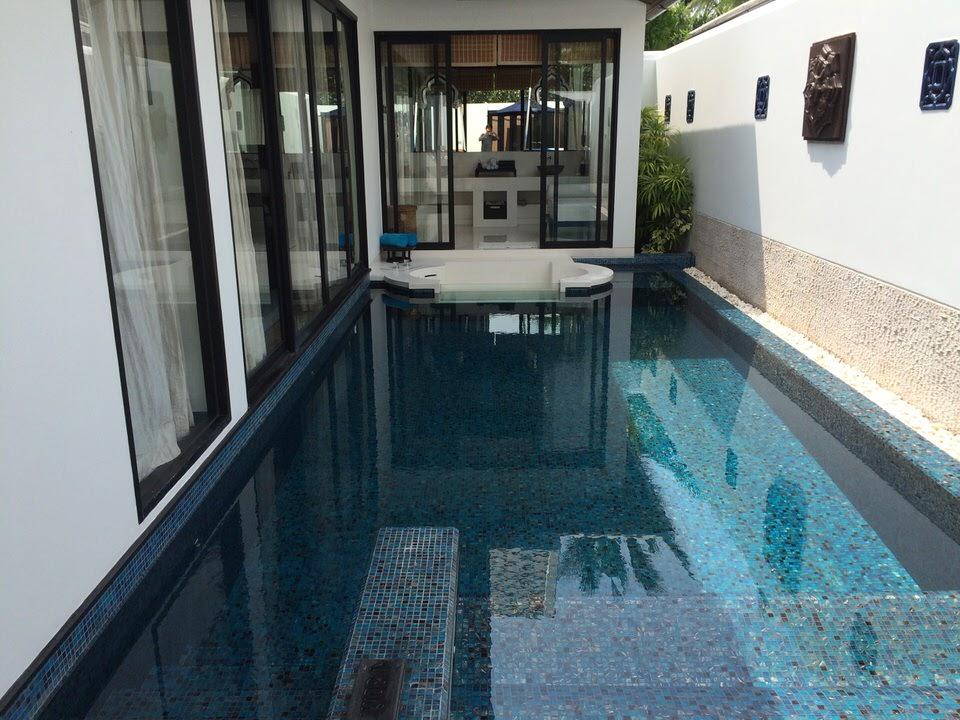 十分泳げるプライベートプール