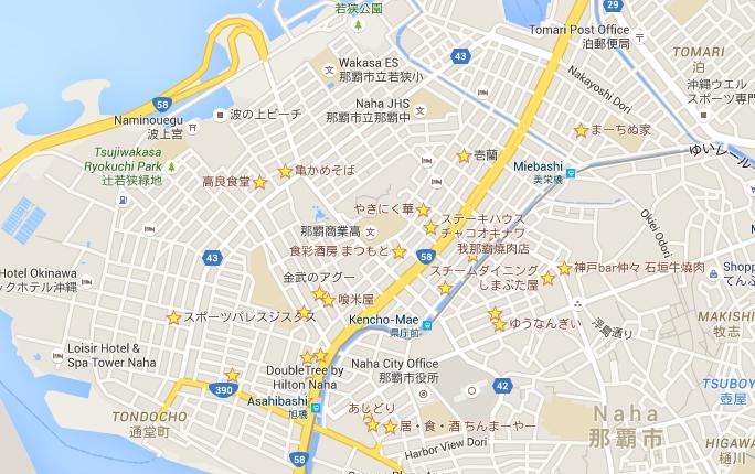 旭橋駅周辺のお気に入りマップ