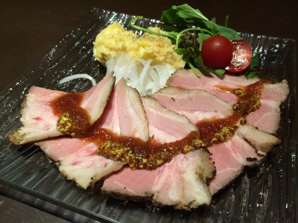 沖縄産 やんばる豚のローストポーク