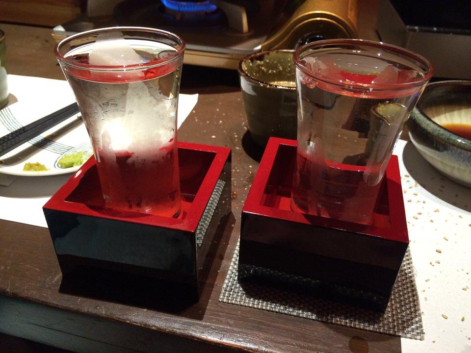 飲み放題で日本酒が進みます!
