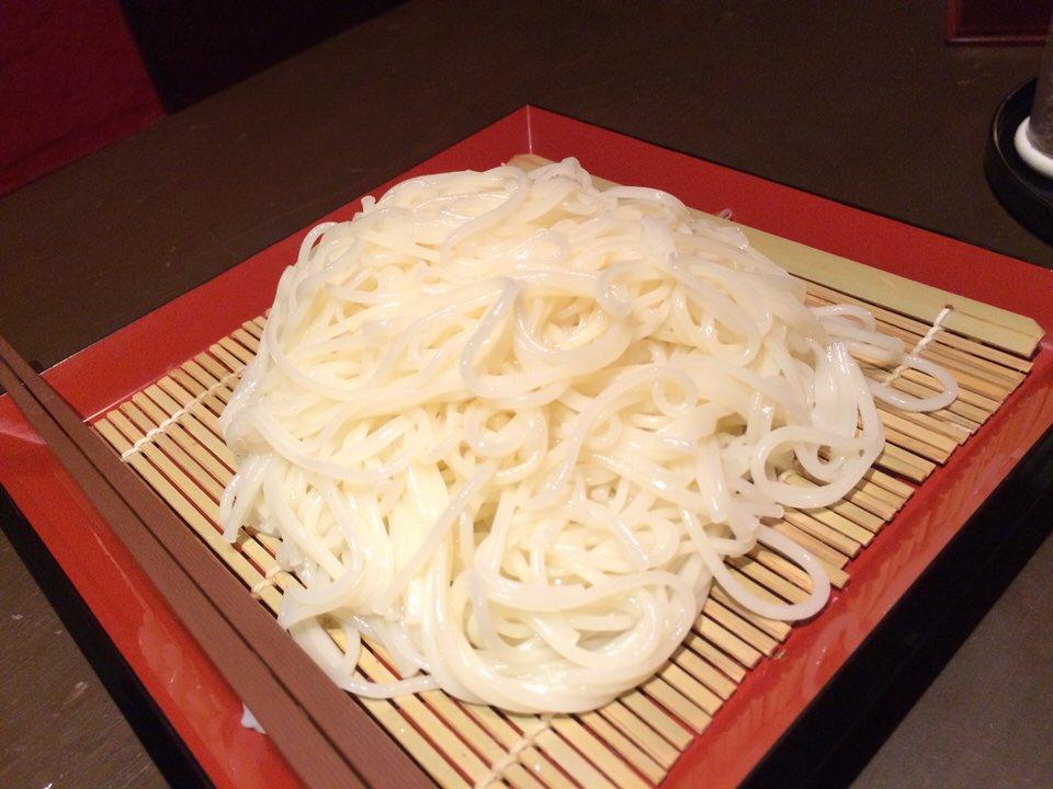 〆の徳島産半田そう麺