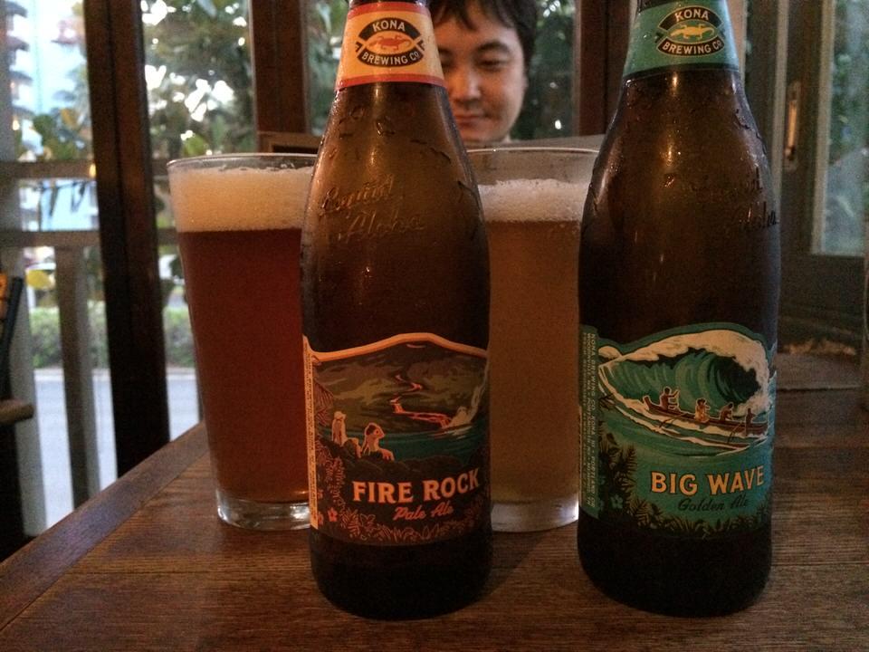 ローカルビールで乾杯!