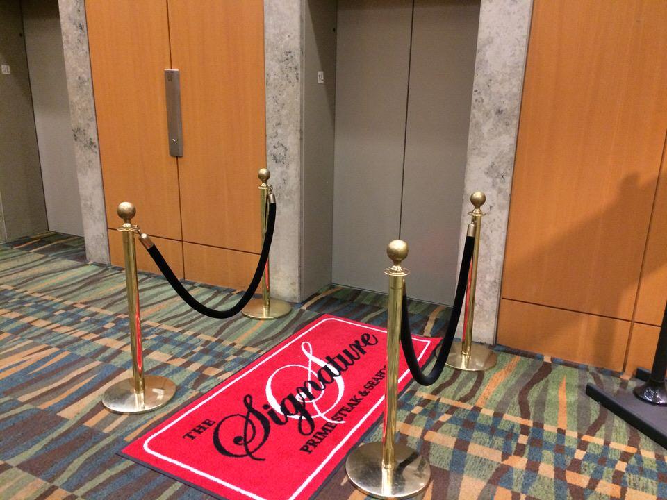 アラモアナホテル The Signatureへのエレベーター