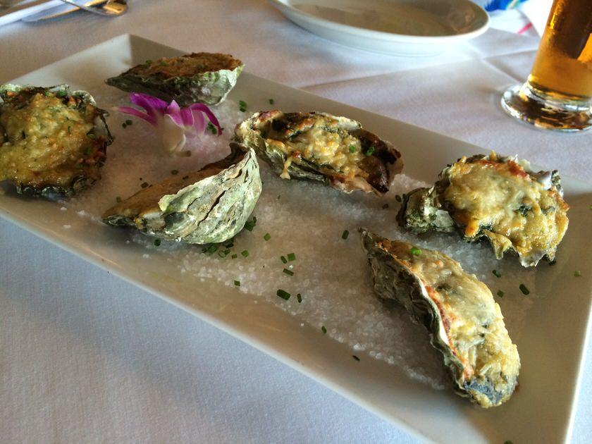 Oysters Rockefeller $16.95