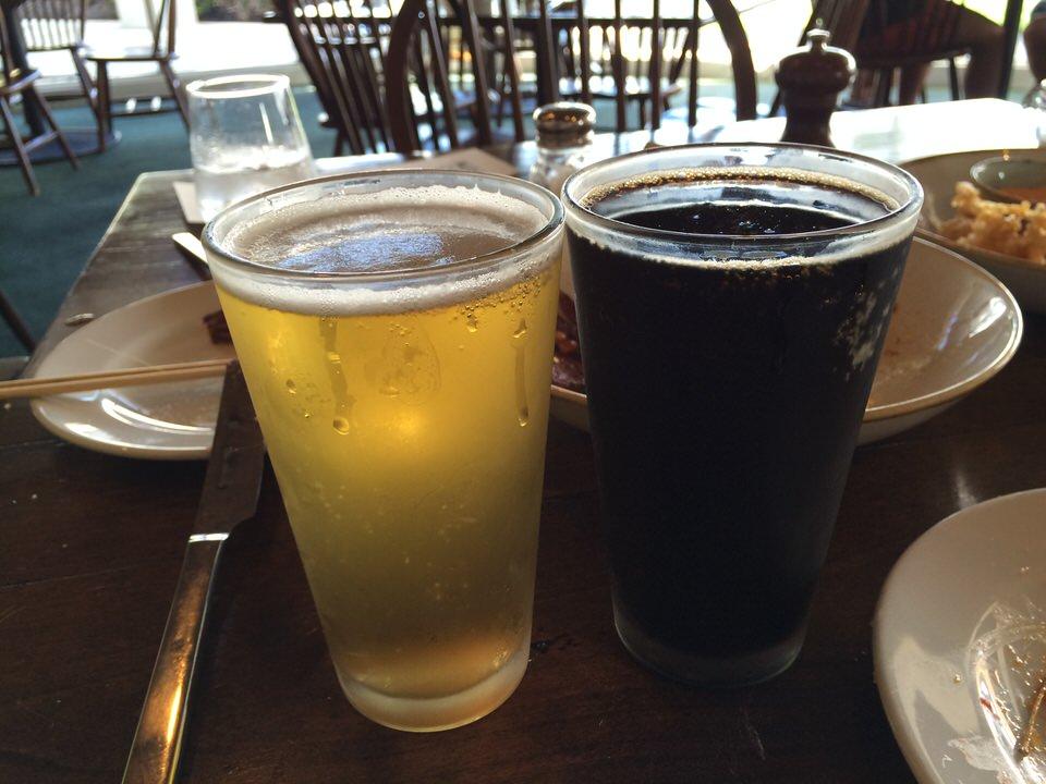 ビール3杯目!