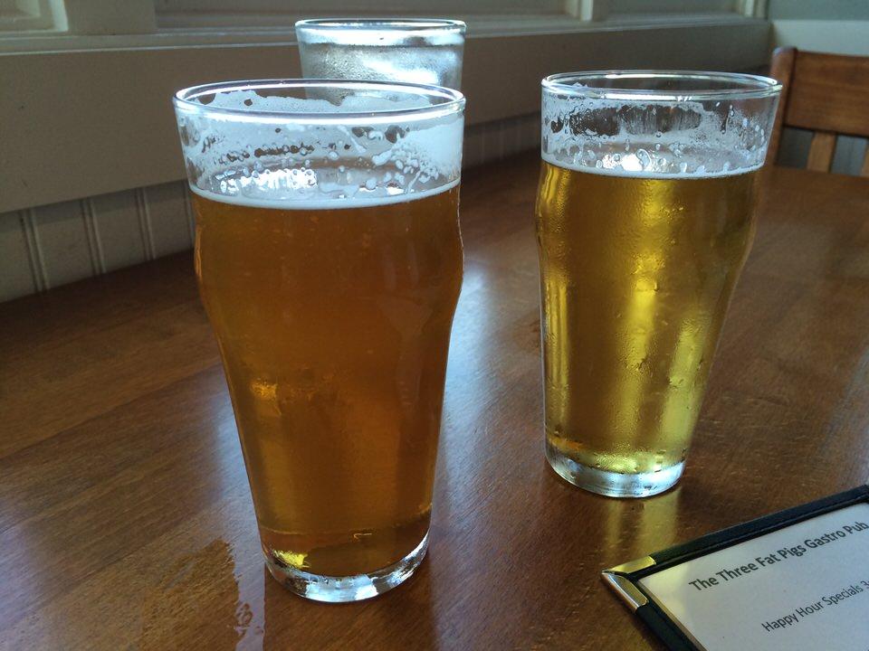 やっぱりビールで乾杯!