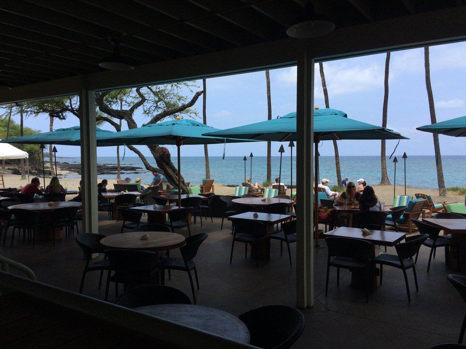 Lava Lava Beach Club 店内からの景色