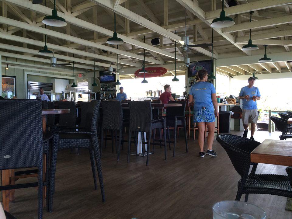 Lava Lava Beach Club 店内の様子
