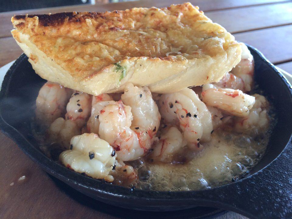 おかわり Sizzling Shrimp