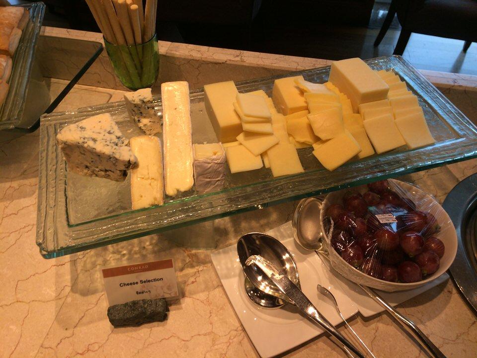 チーズの種類が豊富です。