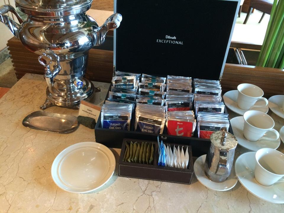 紅茶の種類もいろいろありました
