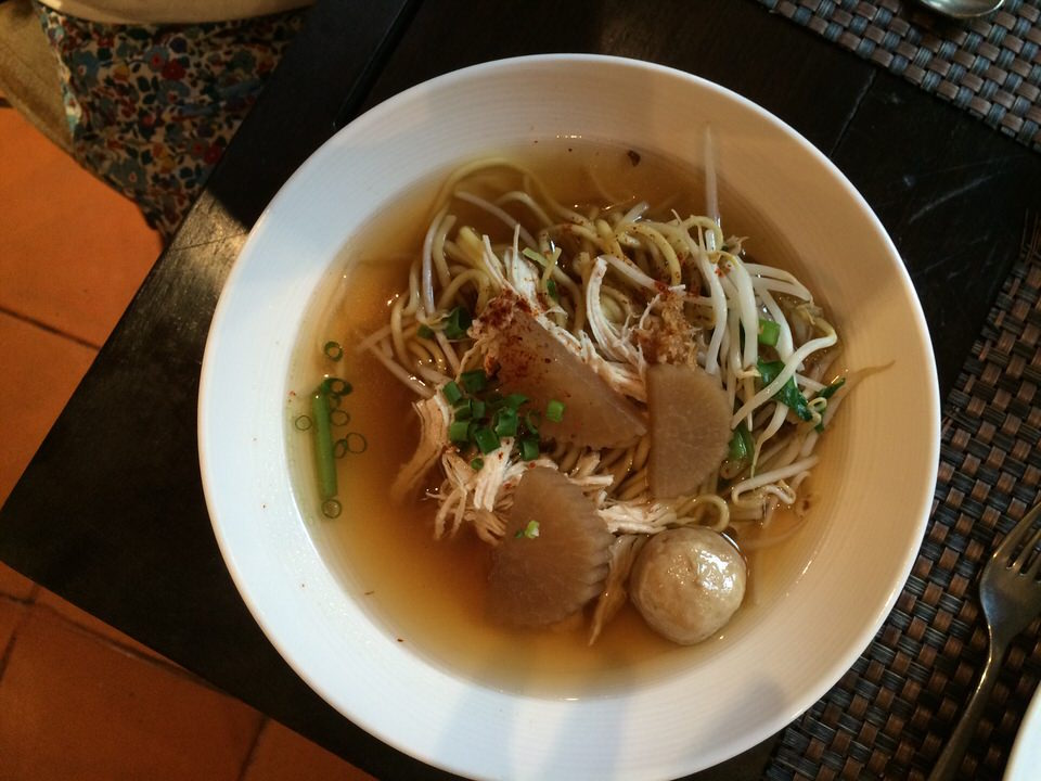 チキン+中華麺