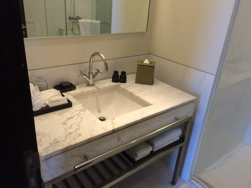 ゲストルームの洗面台