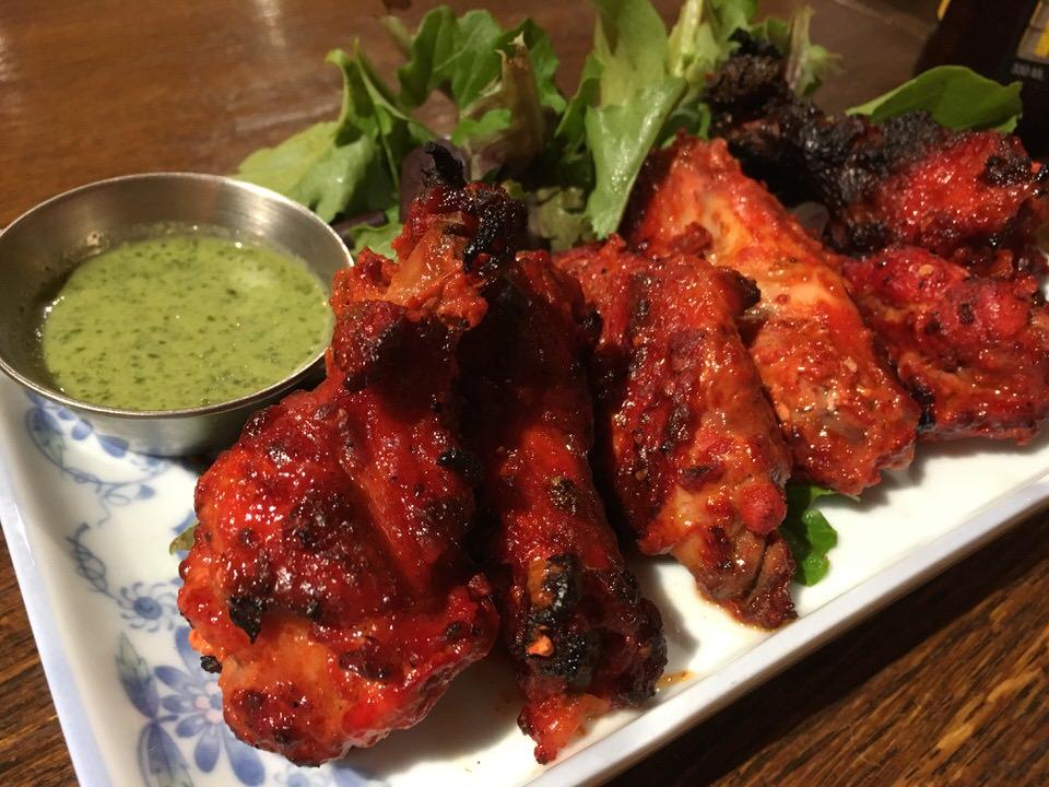 スパイシータンドーリウィング (Spicy Tandoori Wings) $9.95