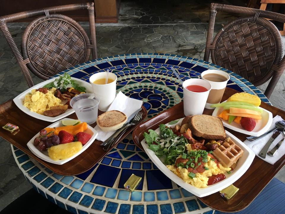 キングスランドの朝食ブッフェ