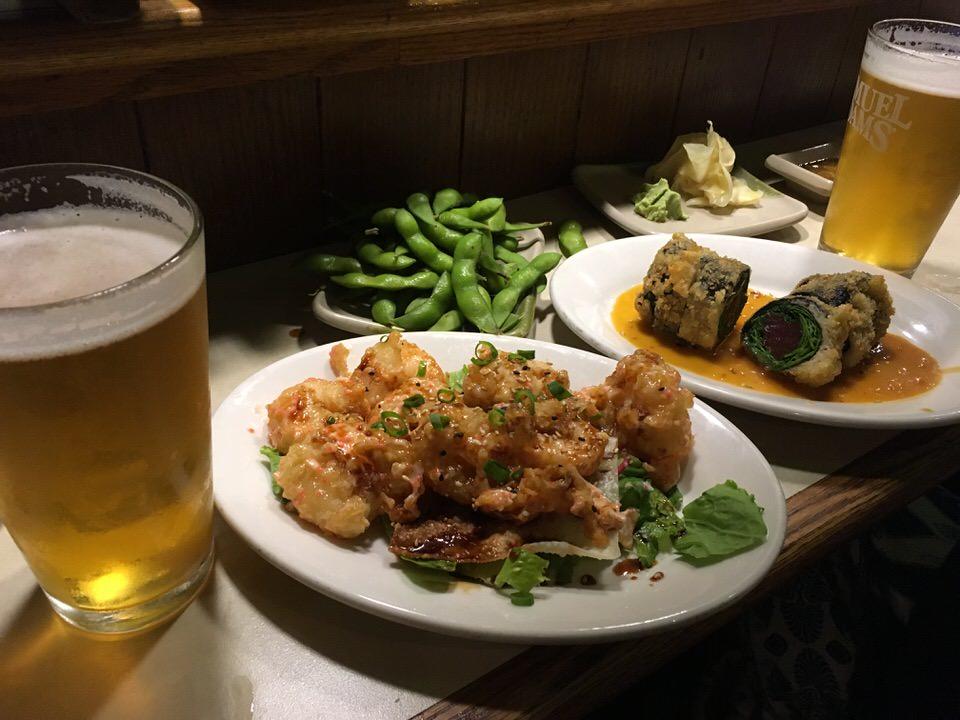 SANSEIS SHRIMP DYNAMITEはビールのつまみに最高!
