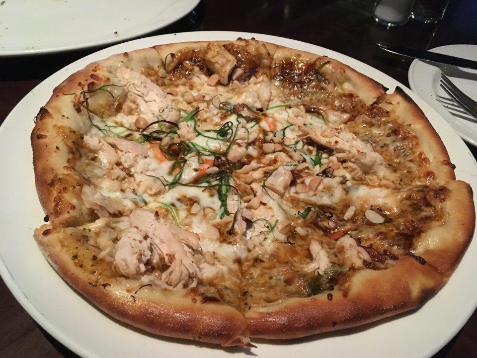 Spicy Thai Chicken Pizza $7