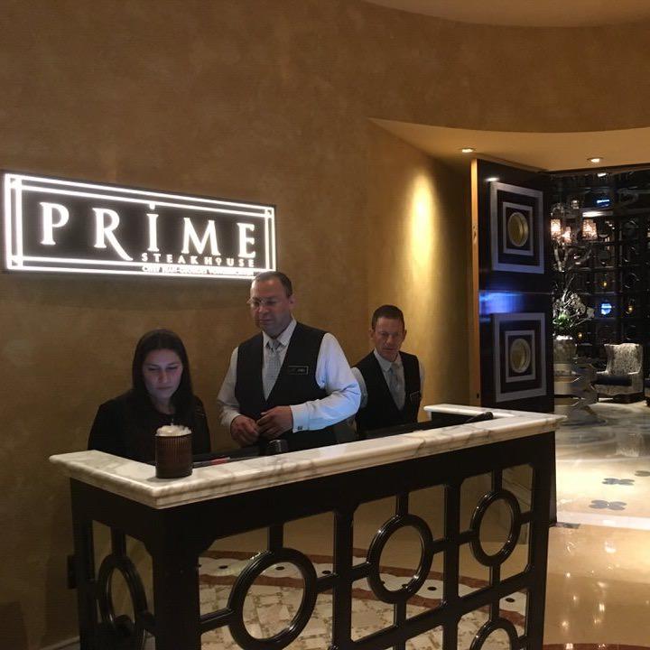 Prime Steak House エントランス