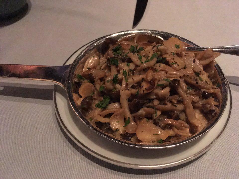 Glazed Market Mushrooms $17