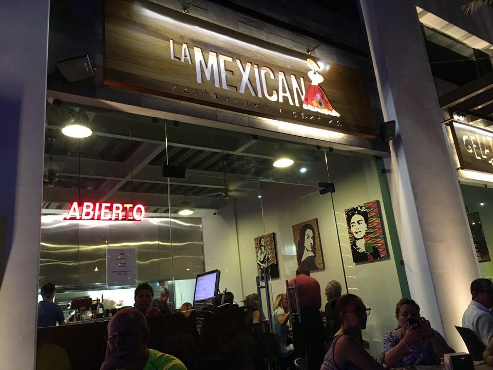 La Mexicana Restaurant & Cantina お店外観