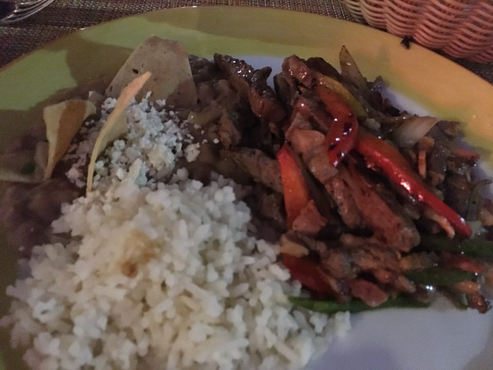Beef Fajitas 220ペソ