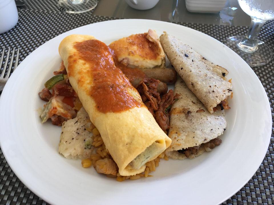 メキシコ料理っぽいプレートになりました。