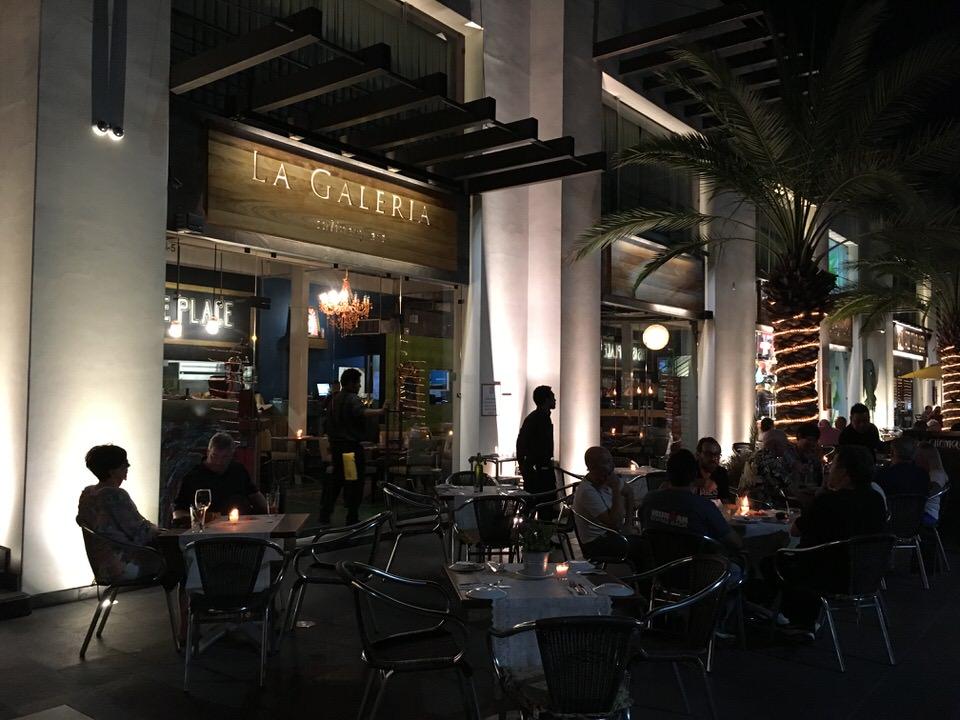 La Galeriaのお店外観