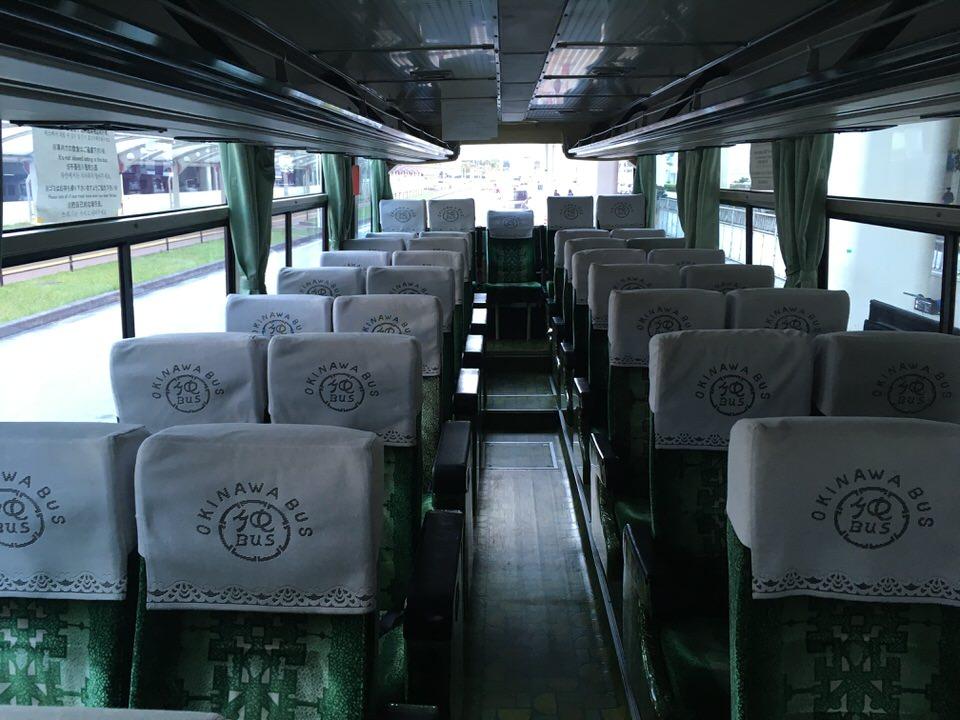 ちょっと古めのバスでした