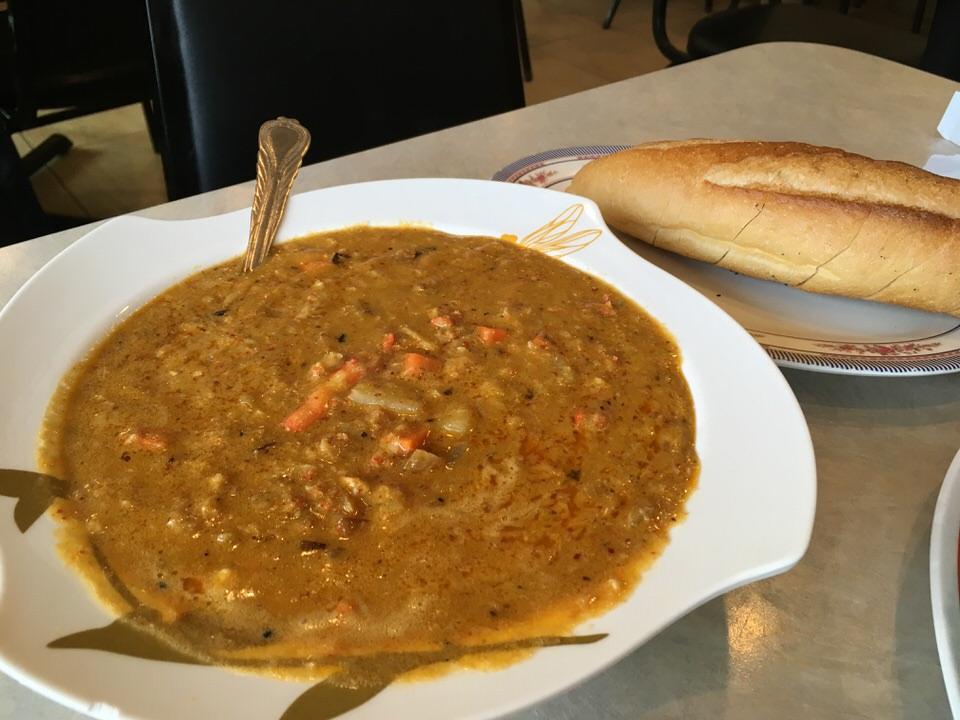蟹カレー (Crabmeat Curry) スモールサイズ 19.95ドル