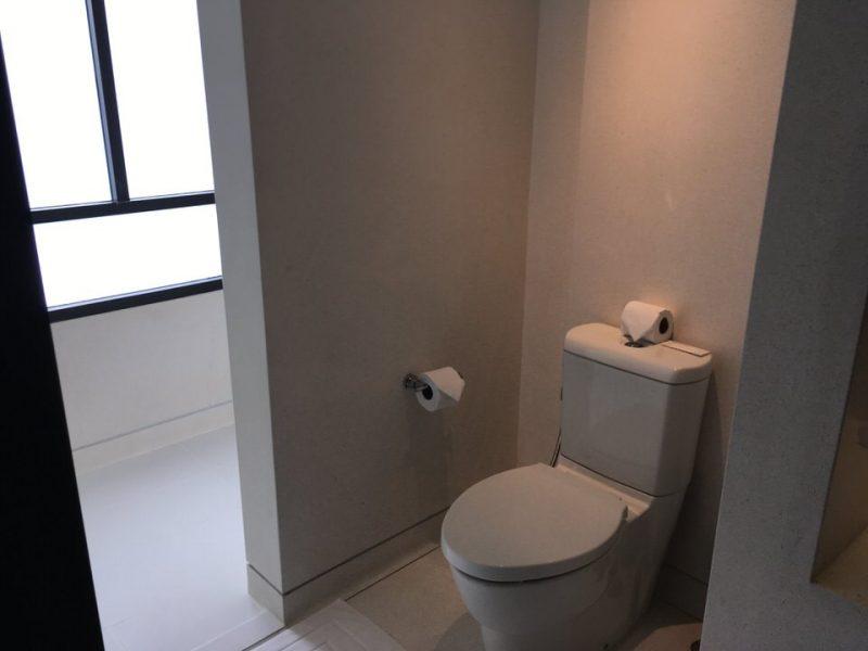 ゲストルームのトイレ
