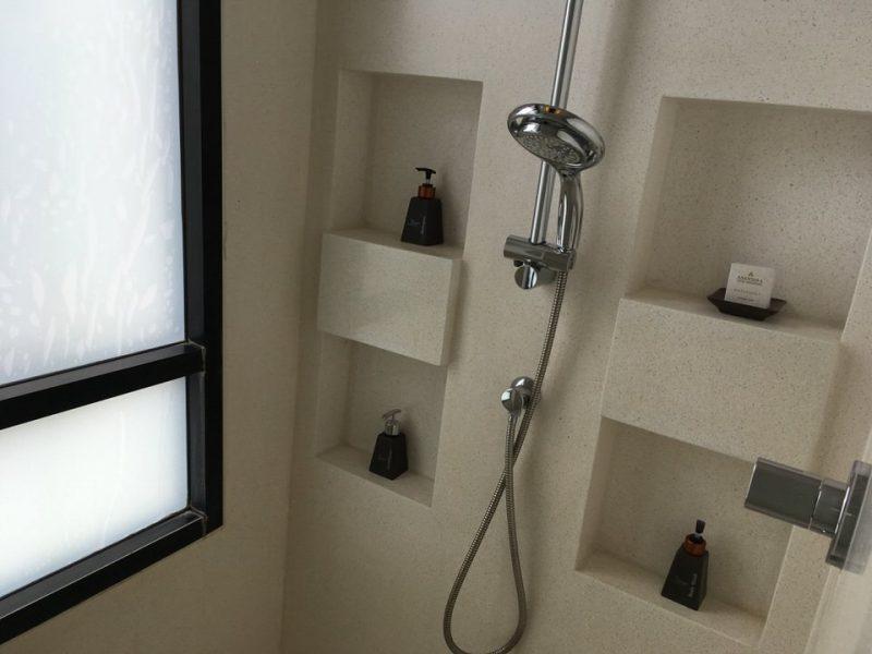 ゲストルームのシャワールーム