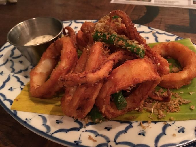 Garlic Calamari ガーリックカラマリ 8.5ドル