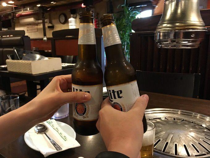 ミラーライト ボトル 3ドルで乾杯!