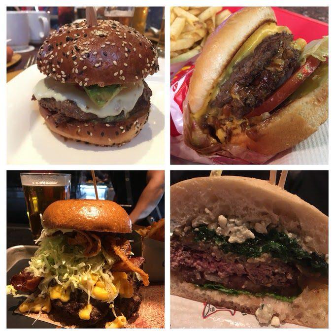 Burgers in Las Vegas