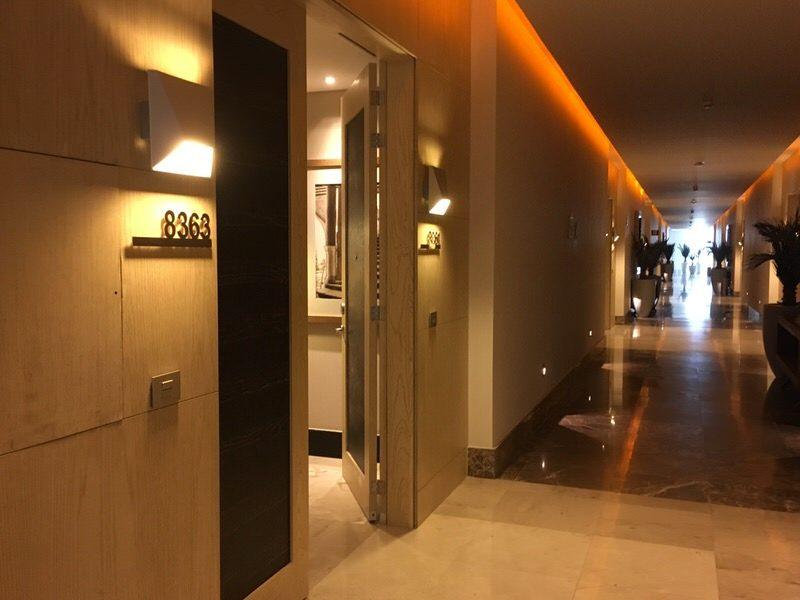 グランドラックス ヌエボバヤルタのお部屋入口
