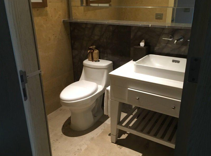 入り口すぐにある1つめのトイレ