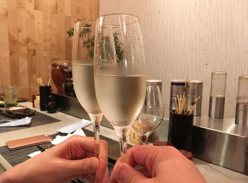 4杯目は日本酒!