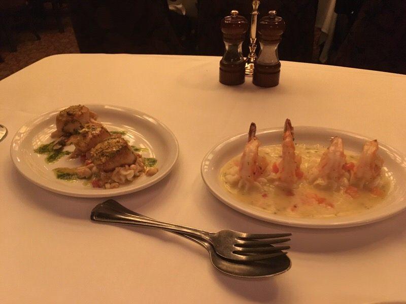 海老と帆立の前菜