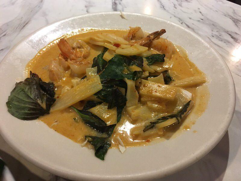 40. Siam Jungle Curry (Evil Curry) with Shrimp 14.99ドル
