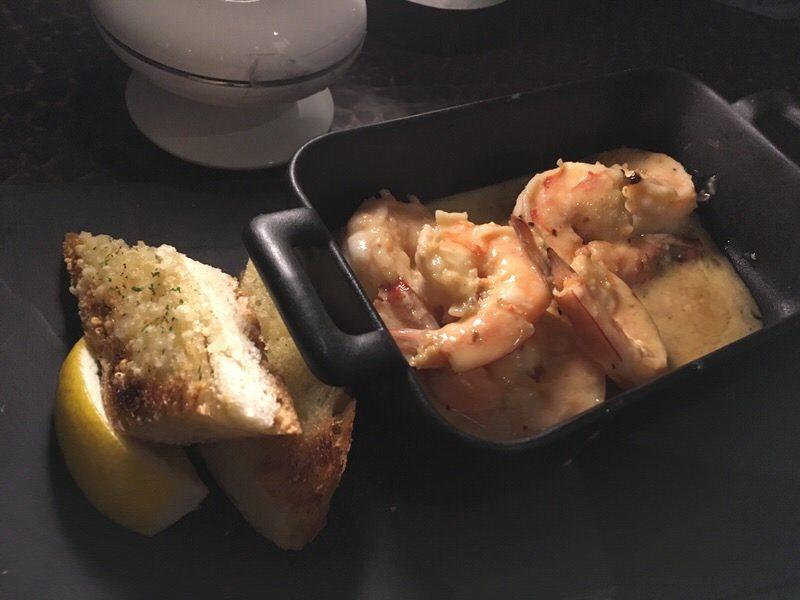 太平洋シュリンプのソテー (Pacific Shrimp Saute) 10ドル (通常20ドル)