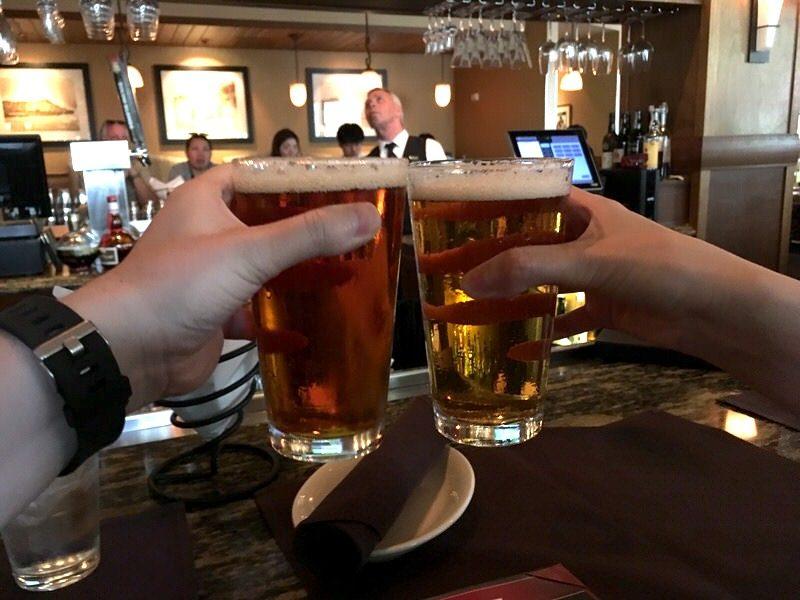 5ドルの生ビールで乾杯!