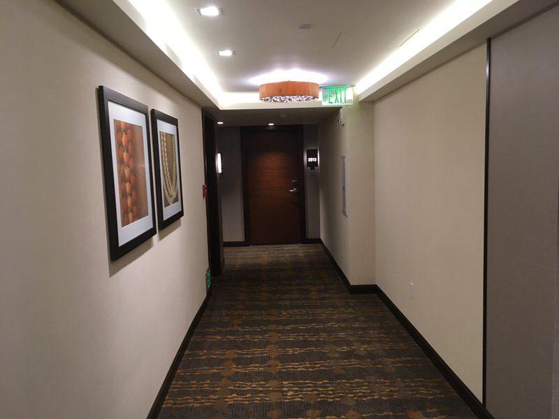 ザ・グランド・アイランダー23階の廊下