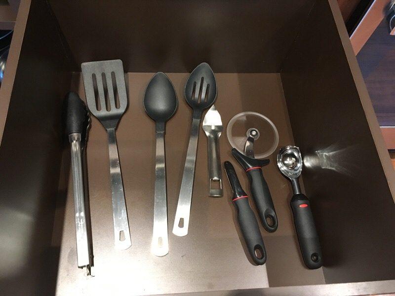 様々な調理器具