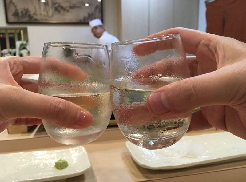 七口万(ななろまん)で乾杯!