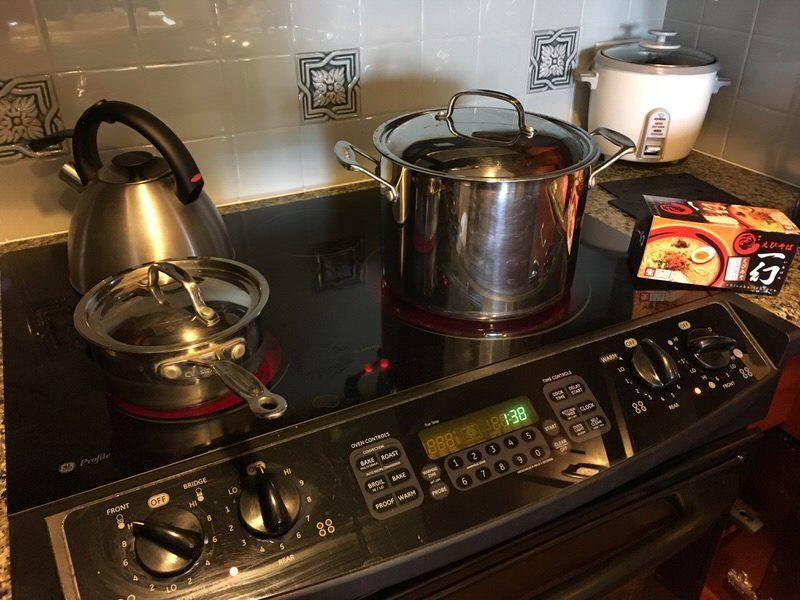 グランドワイキキアンの調理器具。寸胴もあります!