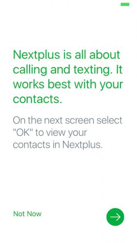 NextPlusでアメリカの電話番号を取得する手順 その12