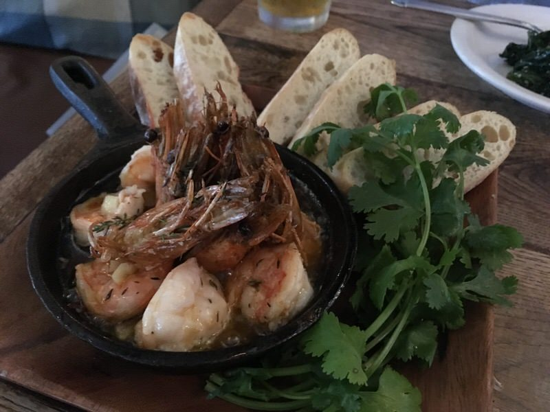 Kauai Shrimp Ajillo (カウアイシュリンプのアヒージョ) 14ドル